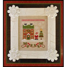 Country Cottage Needleworks - Santa's Village 1 - Santa's House